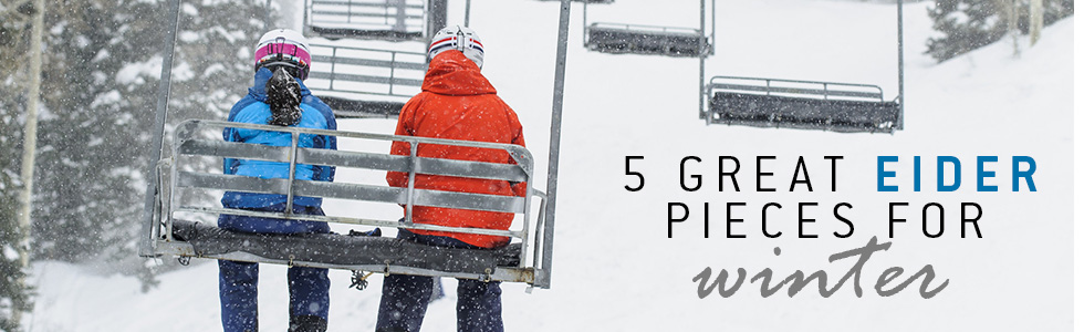 5 great Eider pieces for winter | Blues the Ski Shop | tiso.com
