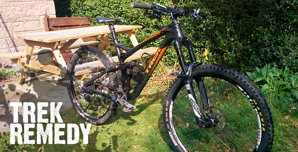 Trek Remedy Custom Build | Meet the Machine | Stuart Nicholson, enduro rider | Alpine Bikes blog