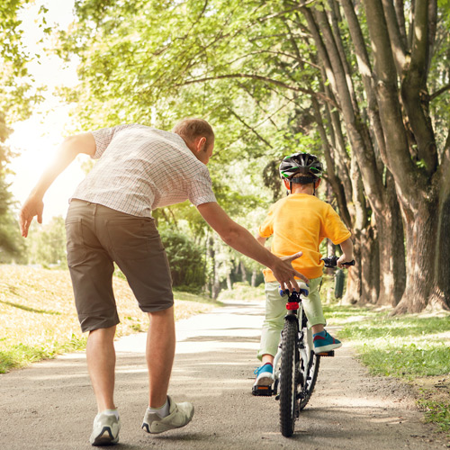 Top Tips for How to Teach a Child to Ride a Bike | Tiso Blog
